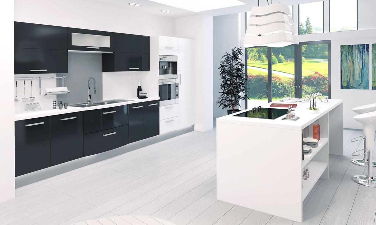 cuisine contemporaine agathe charles rema cuisines haut de gamme. Black Bedroom Furniture Sets. Home Design Ideas