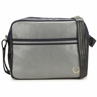 Sac Fred Perry Flight Gris/Marine/Noir
