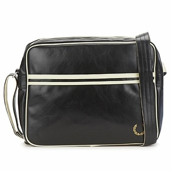 Sac Fred Perry Flight Noir/Beige