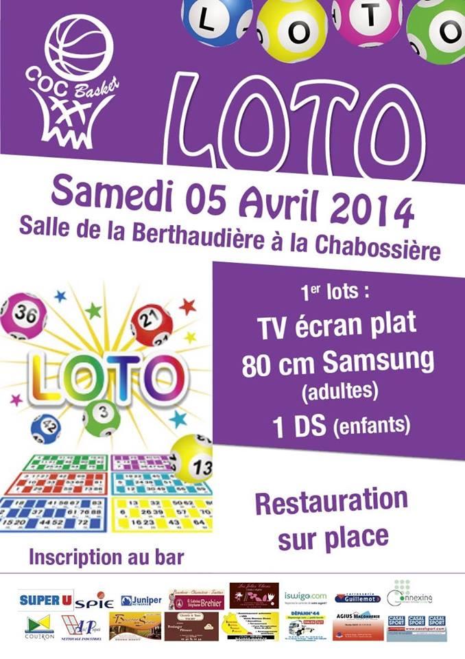 Affiche loto 2014