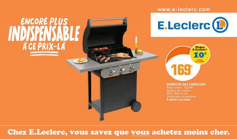 Auchan Barbecue Gaz